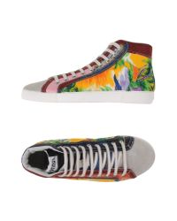 Springa - Orange High-tops & Trainers for Men - Lyst