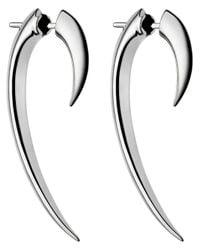 Shaun Leane | Metallic 'tusk' Earrings | Lyst