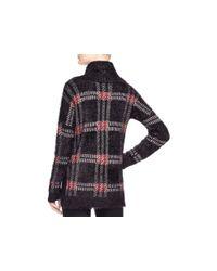 Sanctuary - Black Plaid Turtleneck Sweater - Lyst