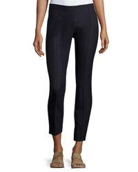 The Row - Black Caro Wool-Blend Pants - Lyst