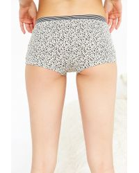 Out From Under | Gray Blake Boyshort | Lyst