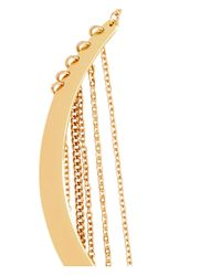 H&M | Metallic Choker With Chains | Lyst