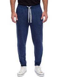2xist | Blue Terry Cotton-blend Sweatpants for Men | Lyst