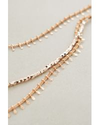 Anthropologie - Pink Mariam Layered Necklace - Lyst