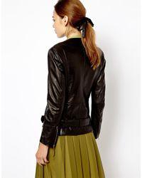 Antipodium | Black Threshold Leather Jacket | Lyst