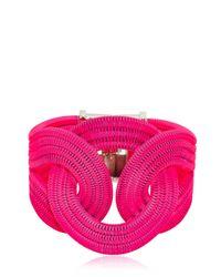 Lara Bohinc | Pink Solar Eclipse Bracelet | Lyst