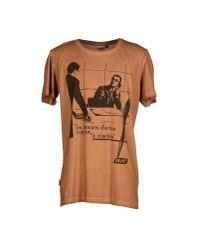 Blomor - Brown T-shirt for Men - Lyst