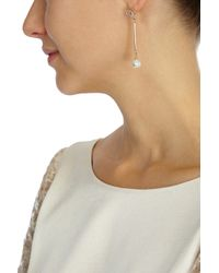 Coast | Metallic Droplet Pearl Earring | Lyst