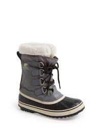 Sorel | Gray 'winter Carnival' Boot | Lyst
