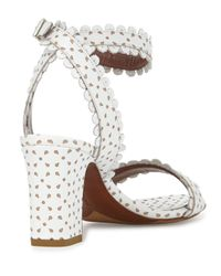 Tabitha Simmons | White Leather Leticia Ankle | Lyst