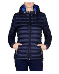 Napapijri   Blue Short Jacket   Lyst