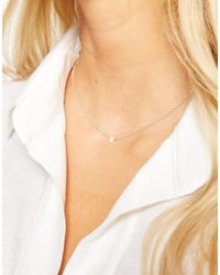 Dogeared | Metallic Sterling Silver Carpe Diem Reminder Necklace | Lyst