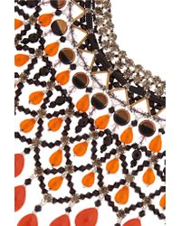 Etro - Orange Gold-plated - Lyst