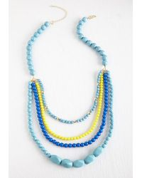 Ana Accessories Inc   Pep It Up Necklace In Blue Sky   Lyst