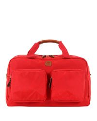 Bric's | Red X-travel Nylon Boarding Duffel Bag for Men | Lyst