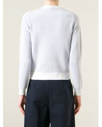 KENZO | White 'Statue Of Liberty' Sweater | Lyst