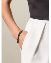 Arielle De Pinto - Gray 'bare' Chain Bracelet - Lyst