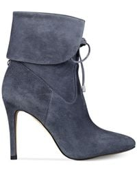 Guess | Gray Women's Declan Lace-up Booties | Lyst