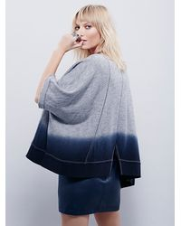 Free People - Gray Womens Rumi Pullover - Lyst