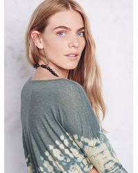 Free People | Green Womens La Livin Coastal Tee | Lyst