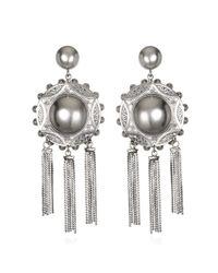 DANNIJO | Metallic Shelton Ii Earrings | Lyst