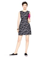kate spade new york | Black Love Mindy Dress | Lyst