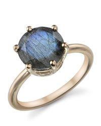 Irene Neuwirth | Metallic Brilliant Cut Labradorite Ring | Lyst
