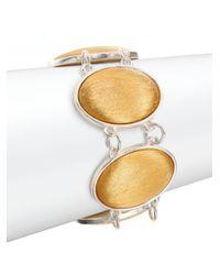 Stephanie Kantis | Metallic Glam Oval Link Bracelet | Lyst