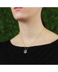 Todd Reed - Blue Diamond Teardrop Pendant Necklace - Lyst