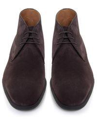 Stemar | Brown Trieste Suede Chukka Boots for Men | Lyst