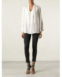 Isabel Marant - White Zora Shirt - Lyst