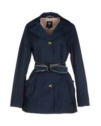 Halifax Traders | Blue Full-length Jacket | Lyst