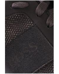BOSS Green - Black Fabric-blend Trainers: 'lighter Influence' for Men - Lyst