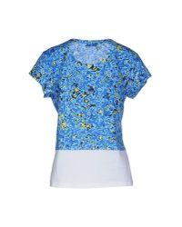 Balenciaga - Blue T-shirt - Lyst