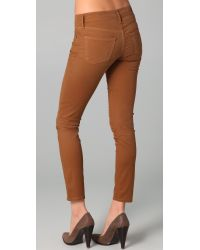 Citizens of Humanity - Brown Thompson Skinny Jeans - Lyst