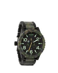 Nixon - Green 51-30 Chrono Analog Watch - Lyst