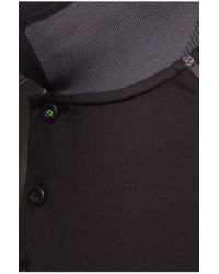BOSS Green   Black 'paule Pro'   Slim Fit, Moisture Manager Cotton Polo Shirt for Men   Lyst