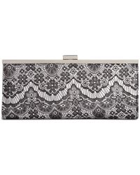 Style & Co. | Gray Style&co. Carolyn Lace Clutch | Lyst