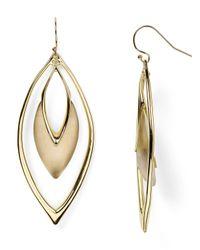 Alexis Bittar | Metallic Lucite Orbiting Drop Earrings | Lyst