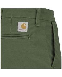 Carhartt - Green Men's Sid Pants for Men - Lyst
