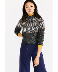 Kimchi Blue - Gray Up North Sweater - Lyst
