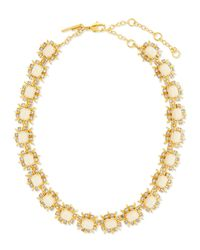 Lele Sadoughi - Metallic Solstice Crystal Collar Necklace - Lyst