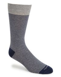 Etiquette - Gray 'thousand Stripes' Socks for Men - Lyst