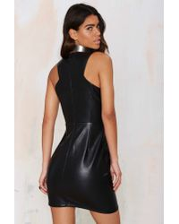 Nasty Gal - Black Glamorous Tear It Up Mini Dress - Lyst