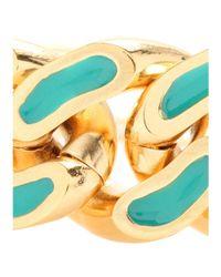 Aurelie Bidermann | Blue Waikiki Chain Link Bracelet | Lyst
