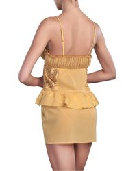 La Perla | Yellow Baby Doll With Brief | Lyst