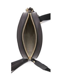 MSGM - Canteen Bag With Tassels - Black - Lyst