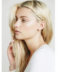 Free People | Pink Jules Smith Womens Classic Hoop Earring | Lyst