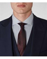 Reiss | Blue Garda Peak Lapel Suit for Men | Lyst