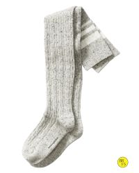 Banana Republic | Gray Cable Stripe Over-the-knee Sock | Lyst